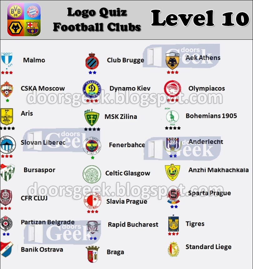 Logo Quiz Answers Level 10
