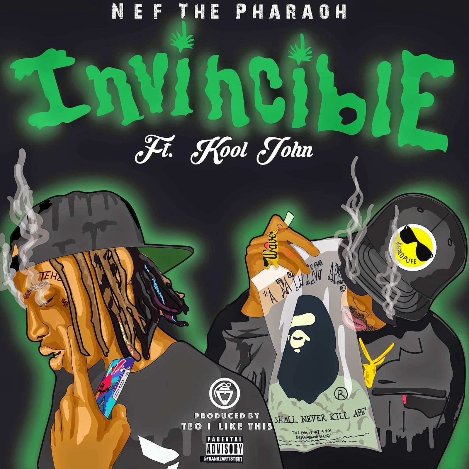 Nef The Pharaoh - Invincible ft Kool John / www.hiphopondeck.com