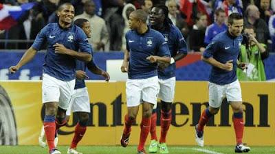 France 3 - 0 Albania