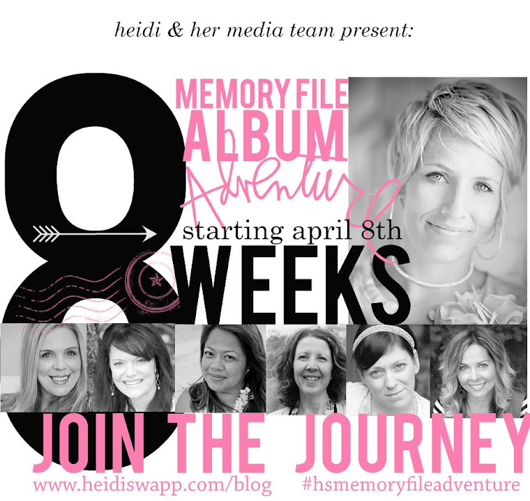 Heidi Swapp Memory File Adventure