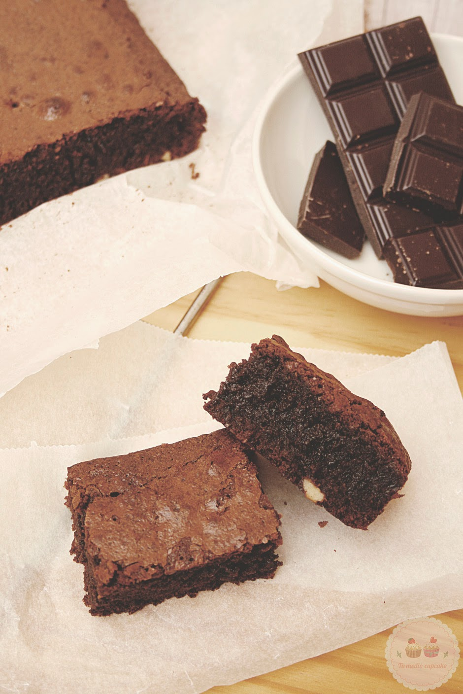 brownie de chocolate perfecto