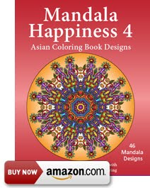 Mandala Happiness 4 Asian Design