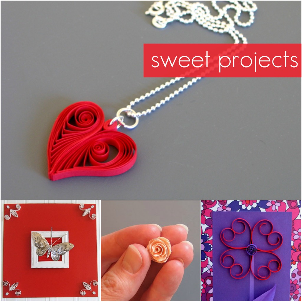 Paper Quilling for Valentine's Day