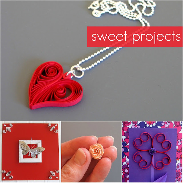 Paper Quilling Valentine's Projects