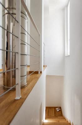 Pisos de madera en casa pasiva de ahorro energético