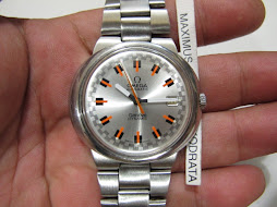 OMEGA GENEVE DYNAMIC SILVER RACING DIAL - AUTOMATIC