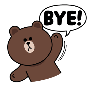 Image result for bye png