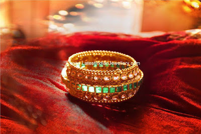 manubhai heavy gold bangle