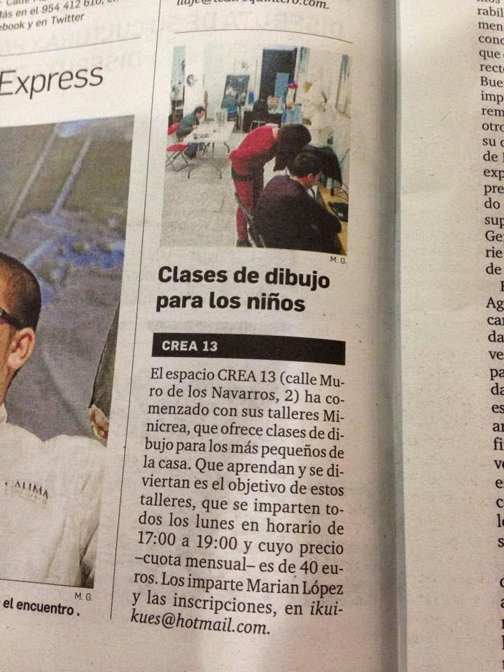 http://crea13dibujopinturasevilla.blogspot.com.es/2014/09/minicrea-201415-dibujo-y-pintura-para.html
