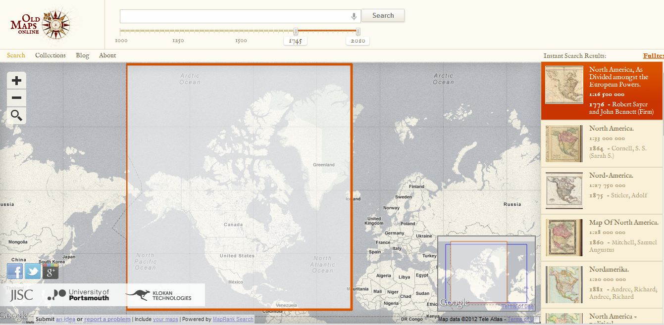 UpFront With NGS Old Maps Online - Buy old maps online