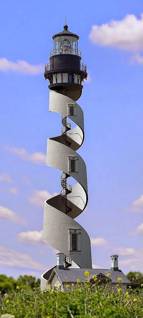 Menara Mercusuar Spiral