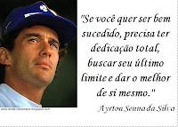 frases ayrton senna, Ayrton Senna