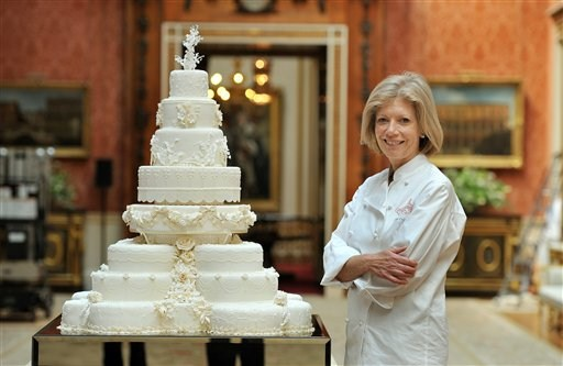 kate and william wedding cake. kate and william wedding cake.
