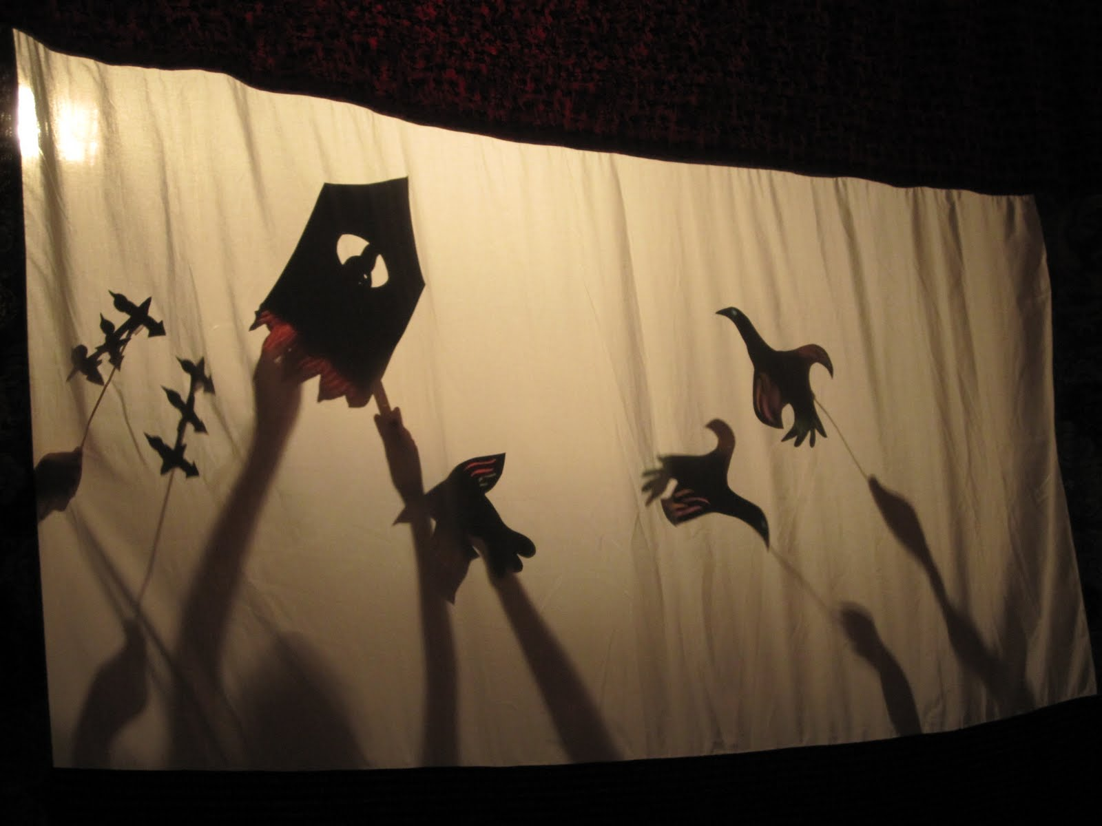 make me musical !: making shadow puppets for our alien orchestra
