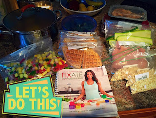 Meal Prep Week 1, 21 Day Fix and Cize Hybrid
