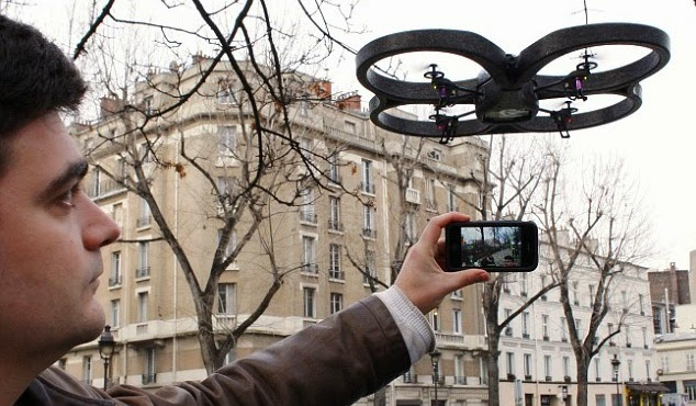 iphone will control drone attack