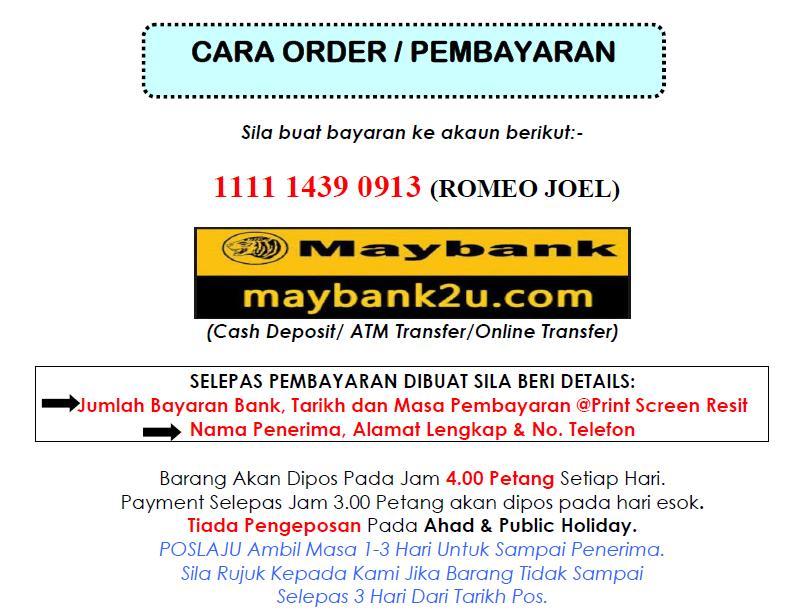 Order / Pembayaran ITMS