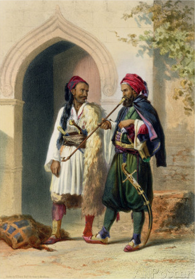 Arnaout and Osmanli Soldiers