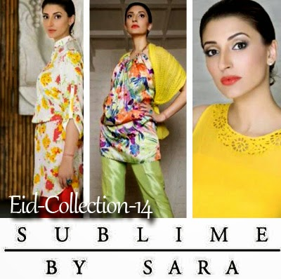 Sublime by Sara Eid Dress Collection 2014 | Summer Collection for Girls