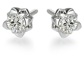 New Journey Diamond Earrings For Women In 14k Gold 11ct  Ye
