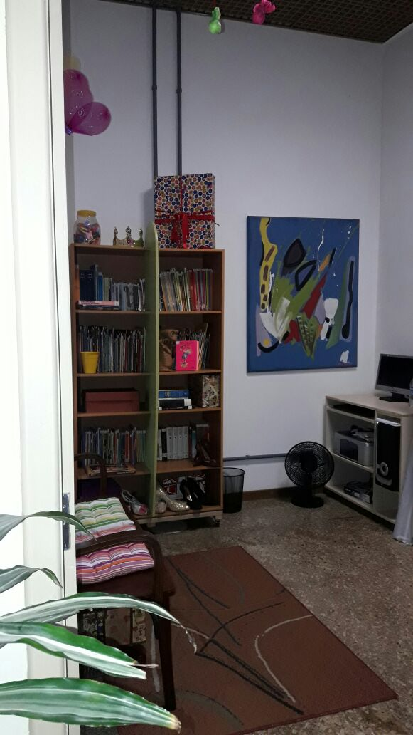 Sala Erico Verissimo (nossa primeira sala)