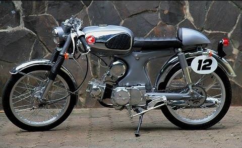 1969 Honda S90 Cafe Racer