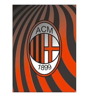 Belajar Membuat Logo klub sepakbola Ac Milan di CorelDraw