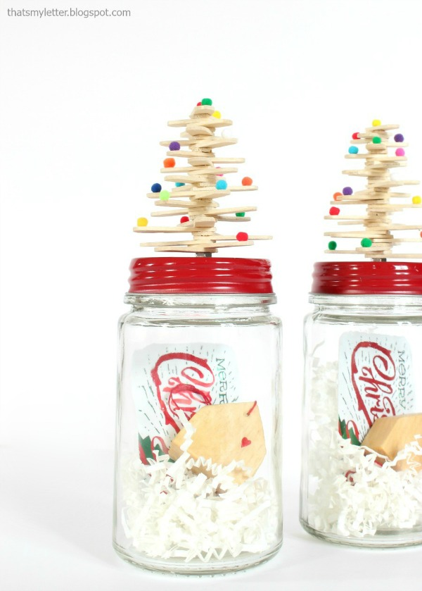 diy mason jar topper for gift giving