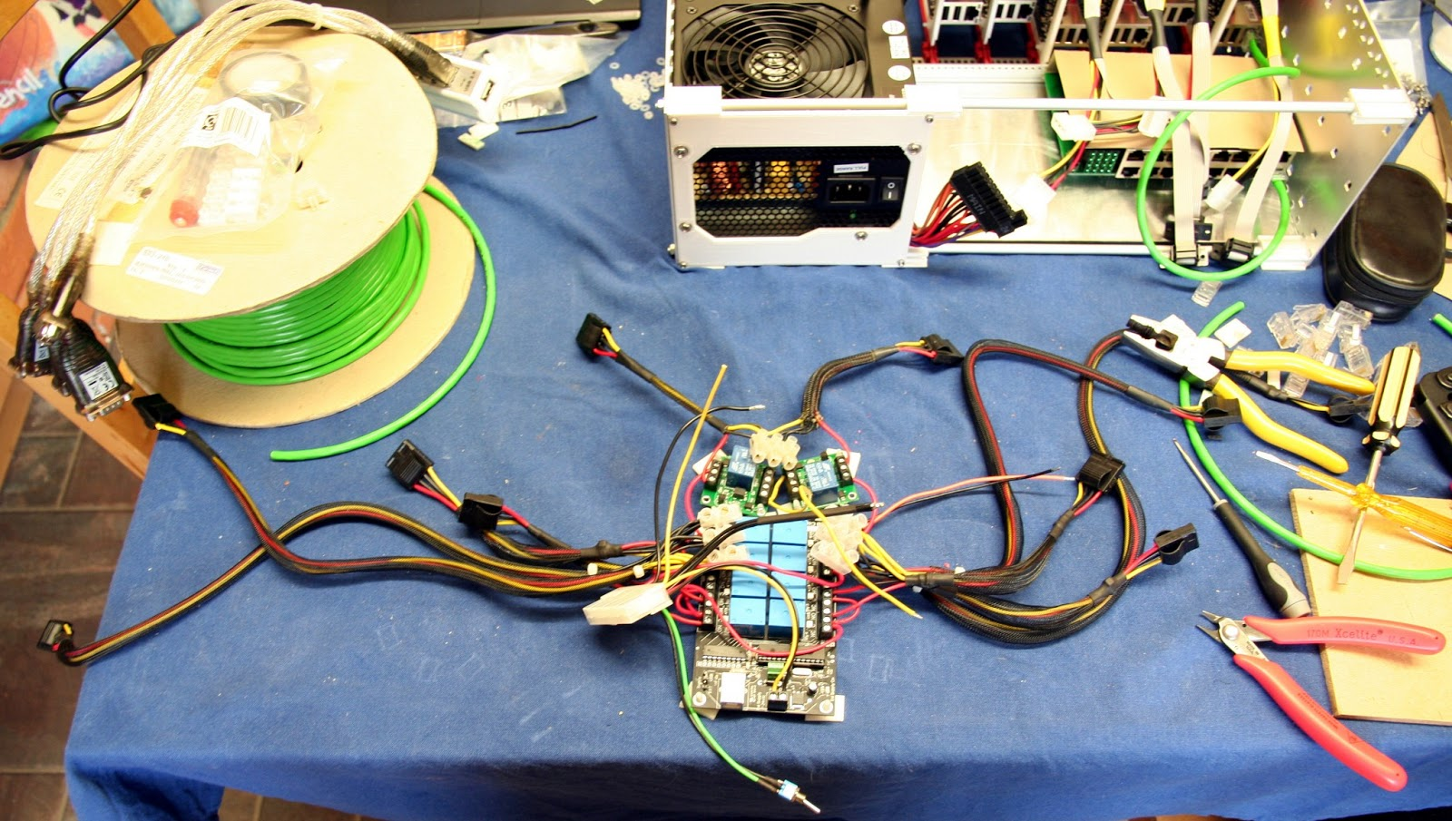 Collabora Custom Arm Hardware Build Farm Solid State Relay Maplin Usb Board With Wiring Loom Attached