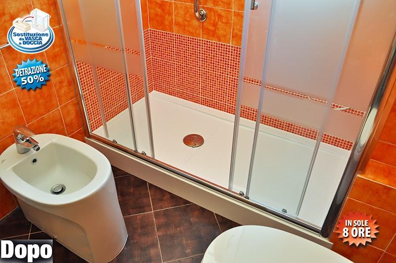 Cambio vasca con doccia a firenze m trasformazione vasca in