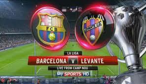Keputusan Perlawanan La Liga Spanyol (Primera Division) 21 April 2013 - Barcelona vs Levante