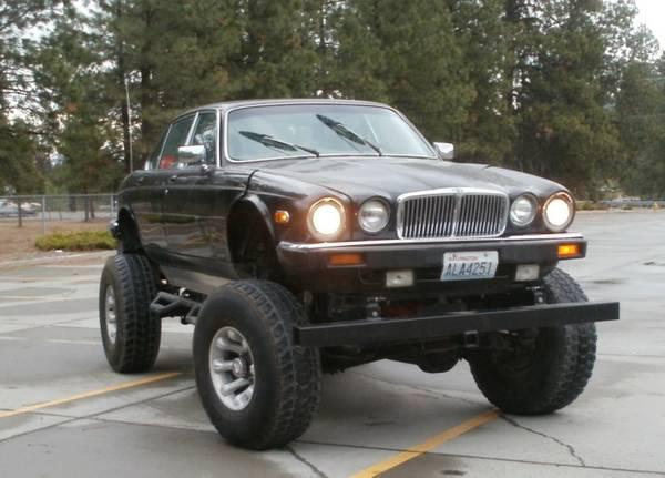 Daily Turismo Jag U Ain T 1984 Jaguar Xj6 Monster Truck