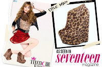 ankle boots as seen on seventeen mag