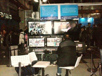 Control de recepción de TV digital Tecnópolis