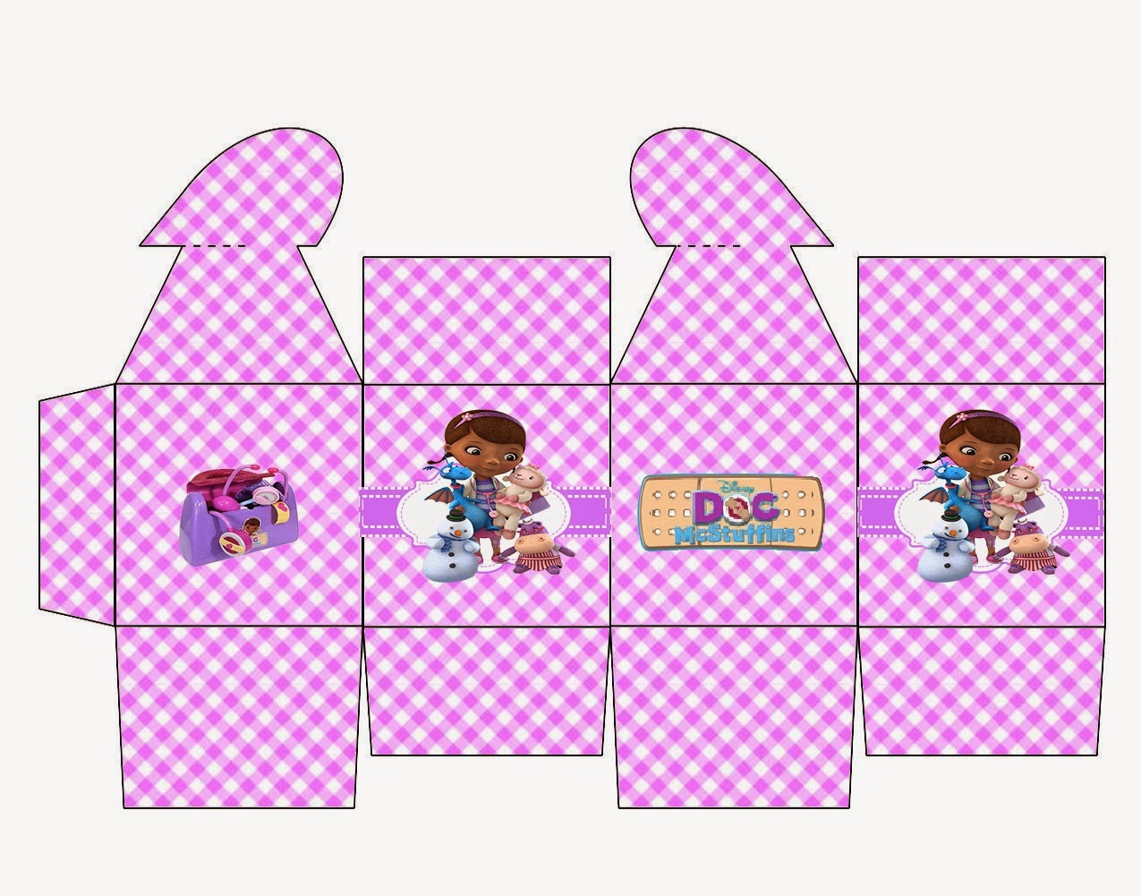Doc Mcstuffins Free Printable Box With Heart Closure Oh My Fiesta In English