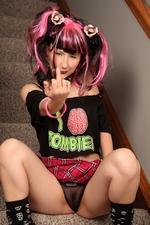 Braaains Zombies Schoolgirl