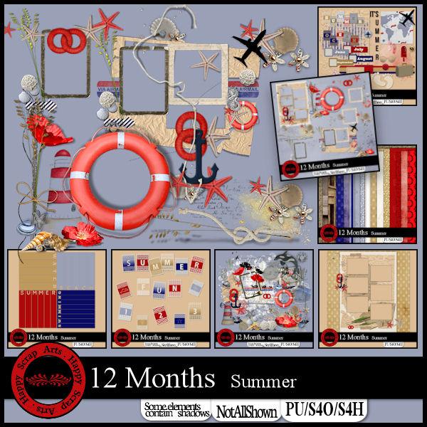 Aug. 2017 - HSA - 12 Months Summer