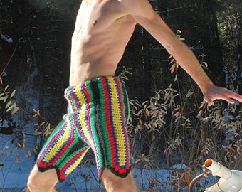 awesome crochet shorts