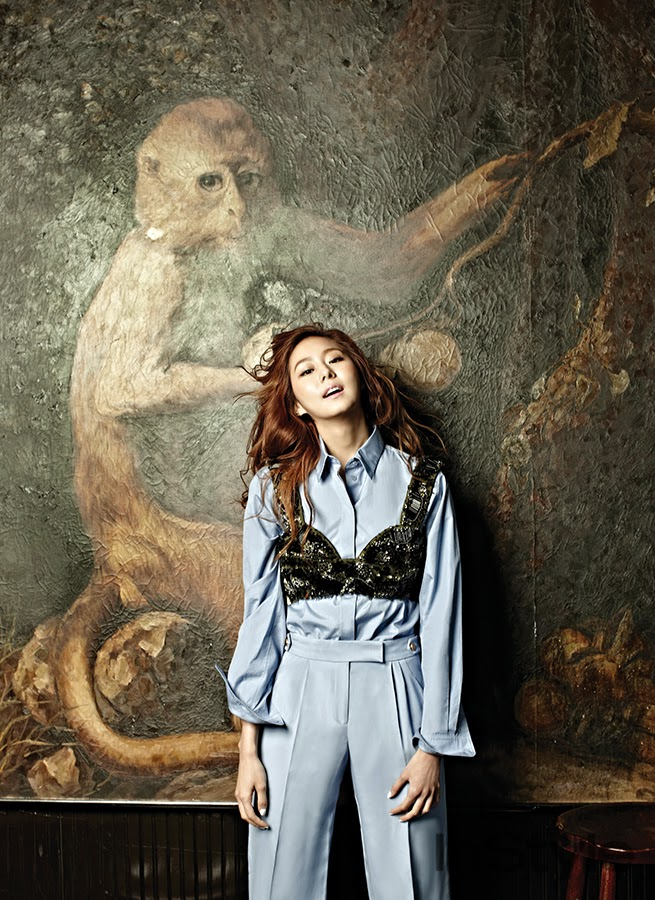 Uee After School - InStyle May 2014