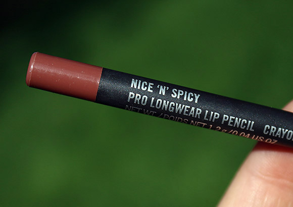 MAC Nice 'n' Spicy Pro Longwear Lip Pencil