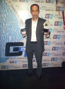 Samsung Indonesia menerima penghargaan Gadget+