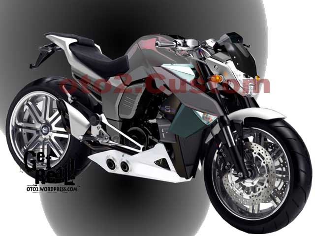 ide modifikasi yamaha byson street fighter