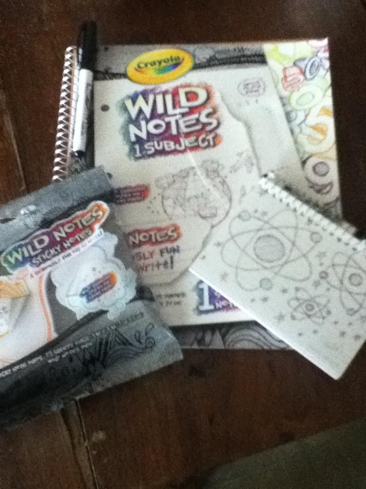 get back to school with crayola wild notes