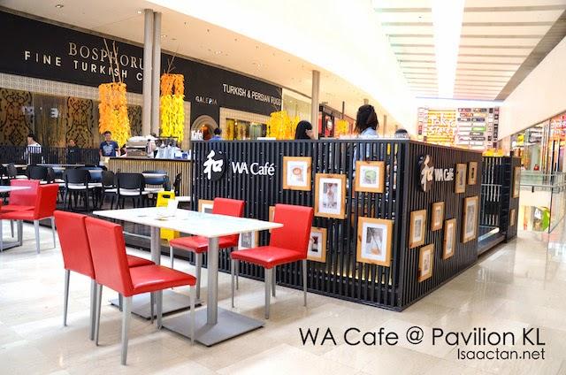 WA Cafe, Pavilion KL