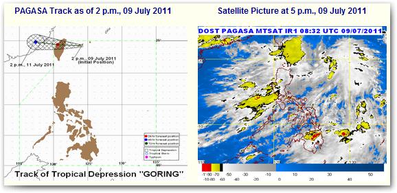 update typhoon goring storm