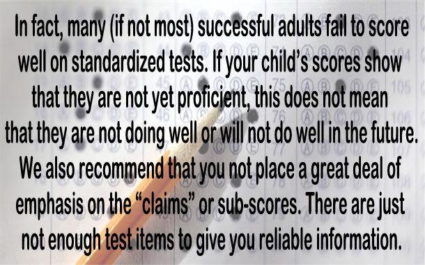 Test Scores Under Common Core Show That >> Big Education Ape Vermont To Parents Don T Worry About Your