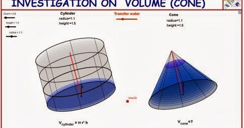 Investigation on cone volume