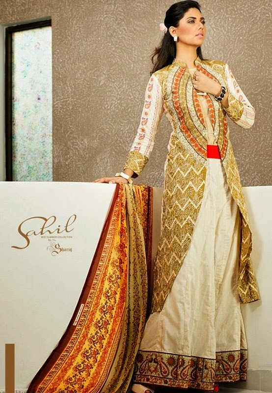 Shariq Textiles Winter Collection 2013 For Girls