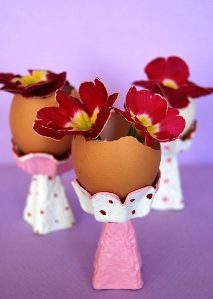 recycle craft made from egg carton