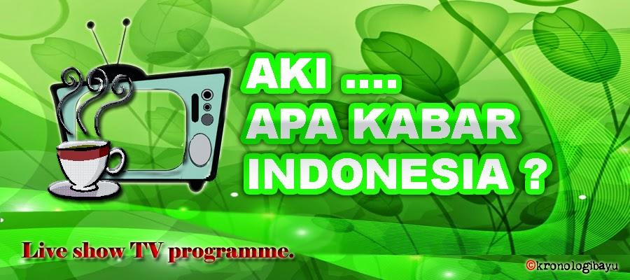 Pasangan muda-mudi cabul, abg mesum, Cerita kali ini mengisahkan teentang dua abg yang menlaukan hubungan terlarang, Apa Kabar Indonesia Pagi, TV One, Talk Show